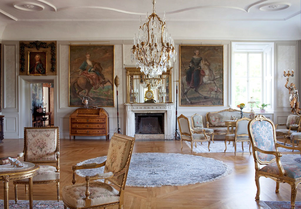 Stunning Baroque Castle Mansion In Sweden IDesignArch