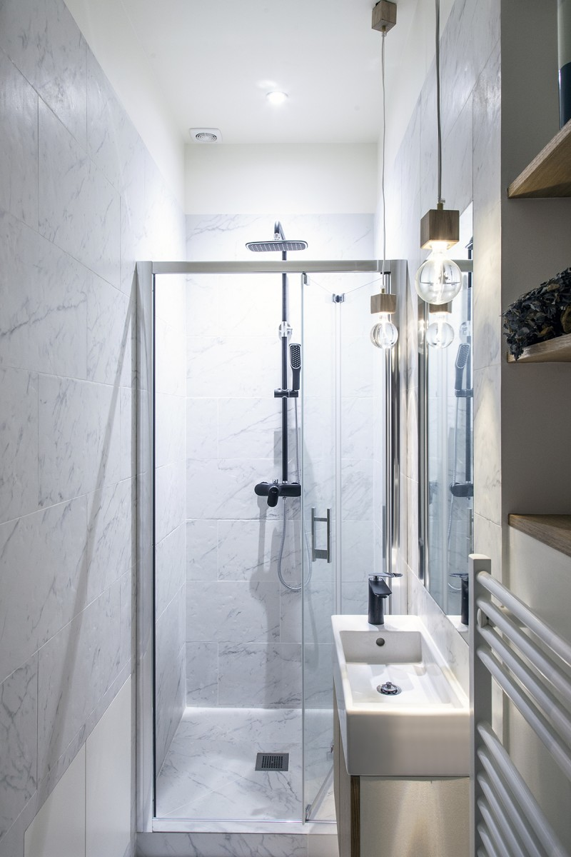 Refurbished Paris Studio Apartment Integrates Storage And Sleeping Space IDesignArch