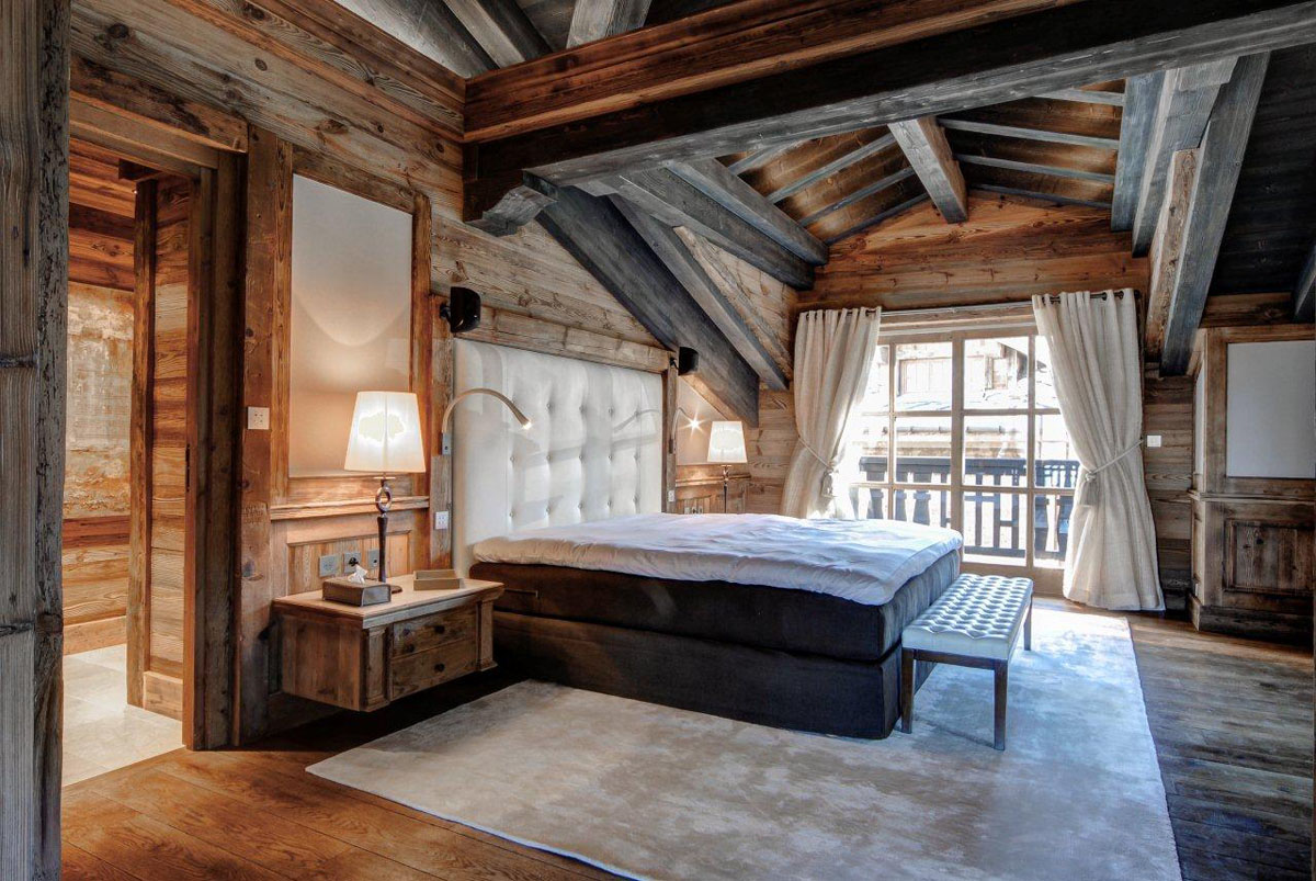 Elegant Chalet Edelweiss In The French Alps Idesignarch