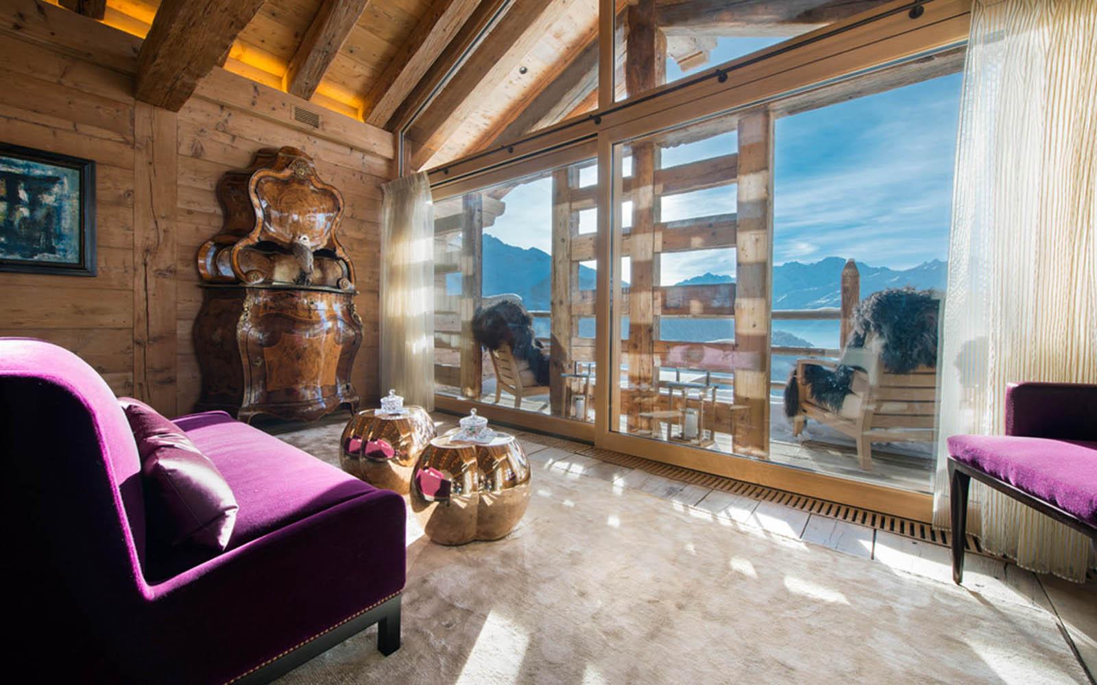 Les Trois Couronnes Eco Friendly Chalet In Verbier IDesignArch Interior Design