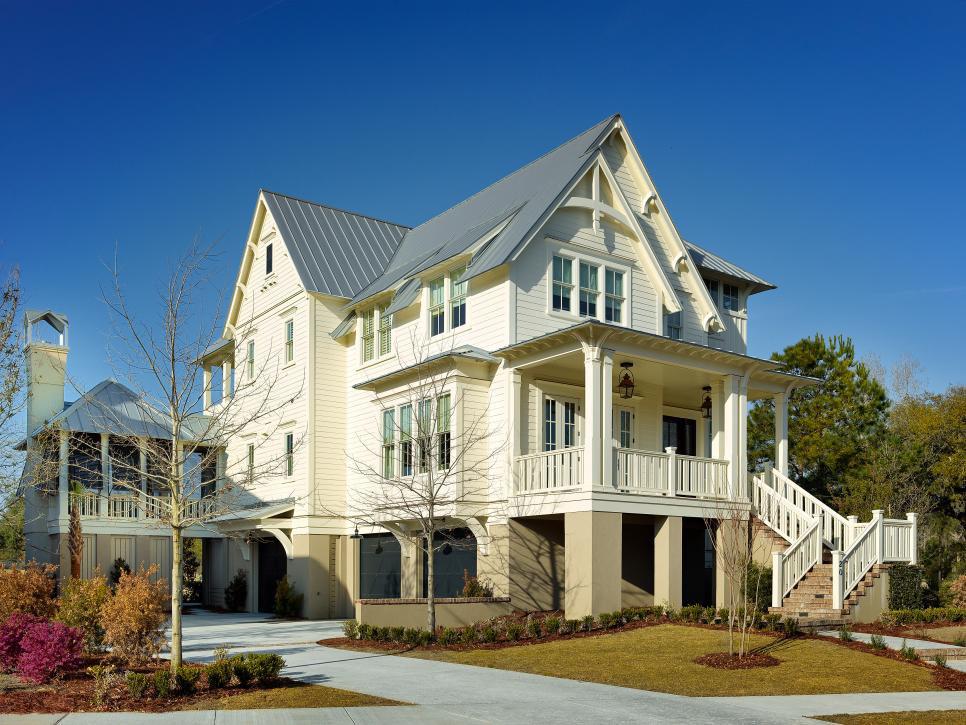 Classic Cottage Style Coastal Home Charleston South Carolina3