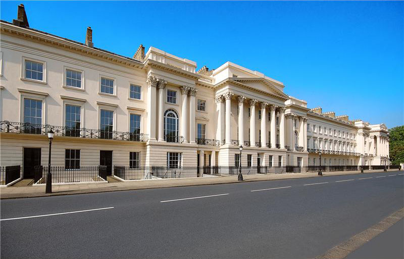 Cornwall Terrace Mansions Worlds Most Expensive Row Of