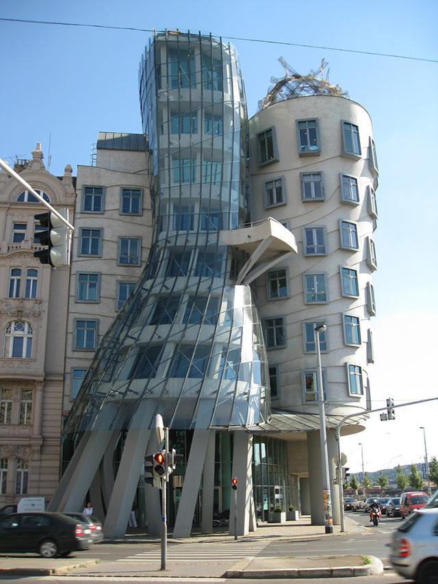 Prague Dancing Building IDesignArch Interior Design Architecture Amp Interior Decorating