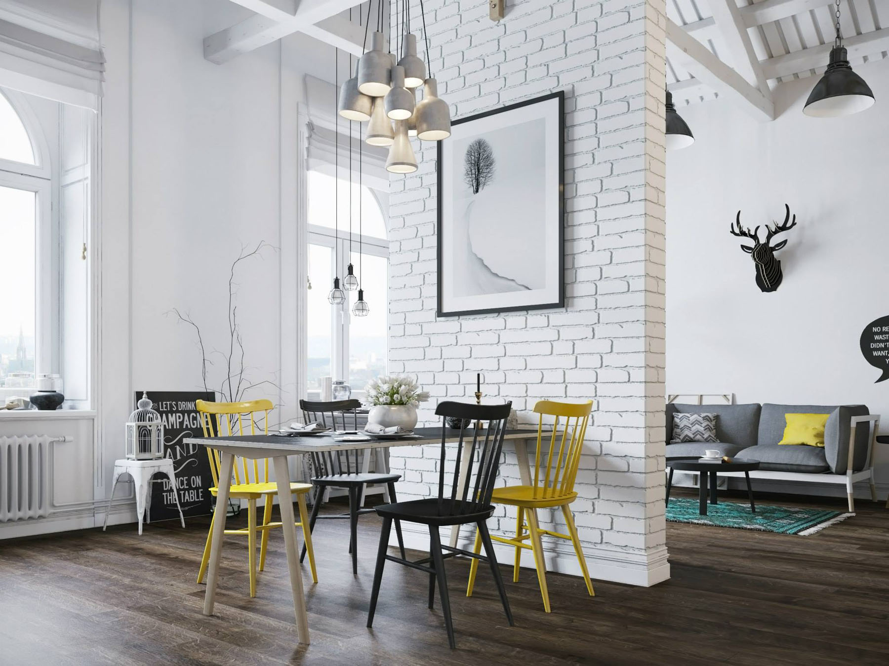 Scandinavian style decor. tricks for creating beautiful interior ...