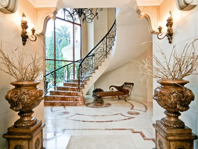 Exquisite Mansion in South Africa   iDesignArch   Interior Design     Grand Mansion Staircase