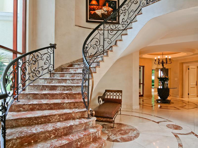 Bedroom Beautiful Mansion Staircase