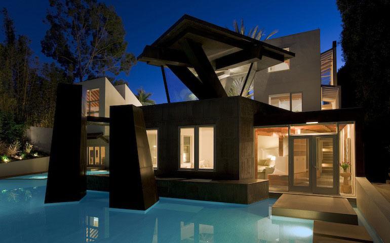 Frank Gehrys Schnabel House Updated IDesignArch Interior Design Architecture Amp Interior