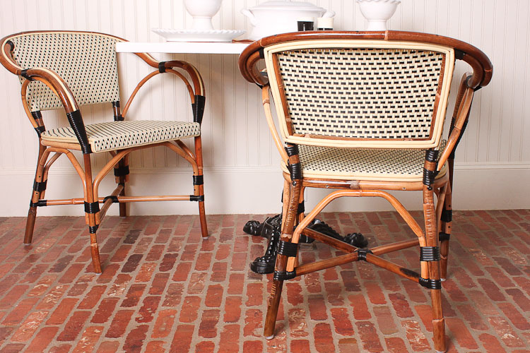 Parisian Caf Inspired French Bistro Chairs IDesignArch