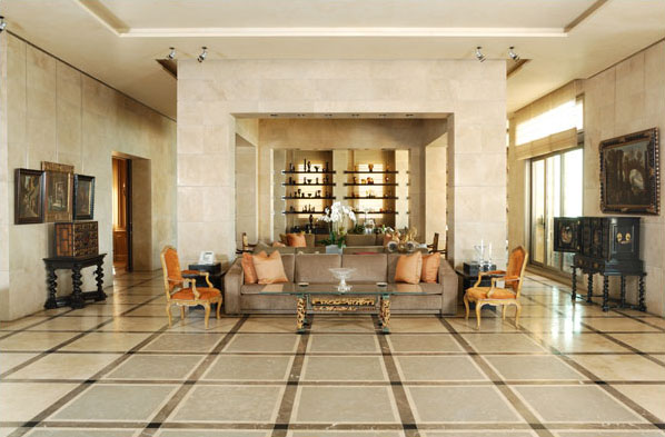 Fusion Style Interiors With Lebanese Influence