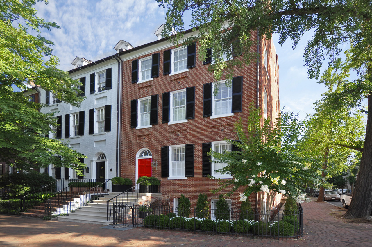 Georgetown Federal Era Townhouse1