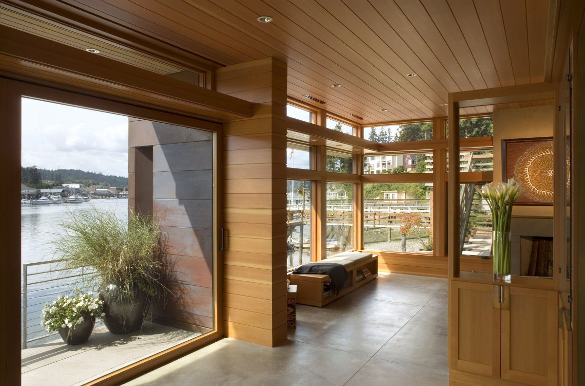 Sustainable House On The Waters Edge IDesignArch