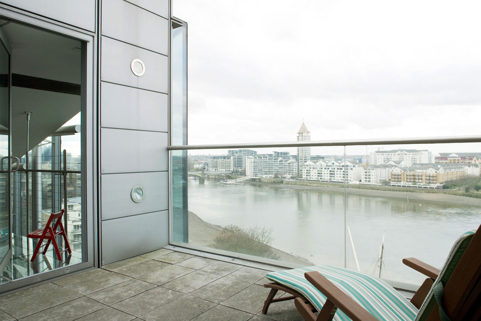 Glass Penthouse In London By The Thames IDesignArch Interior Design Architecture Amp Interior