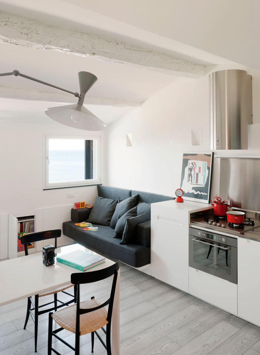 Small Modern Attic Apartment With Harbour View IDesignArch Interior Design Architecture