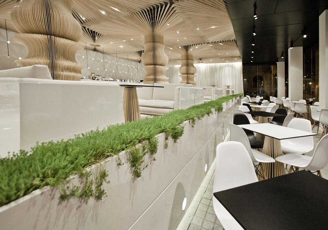 Graffiti Cafes Stunning Restaurant Interior Design IDesignArch Interior Design