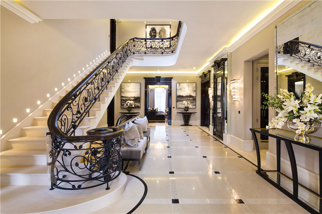 Elegant Contemporary English Mansion In Hampstead   iDesignArch     Elegant Contemporary English Mansion In Hampstead