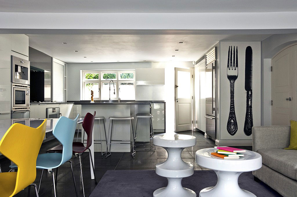 Contemporary London Hyde Park Townhouse IDesignArch Interior Design Architecture Amp Interior