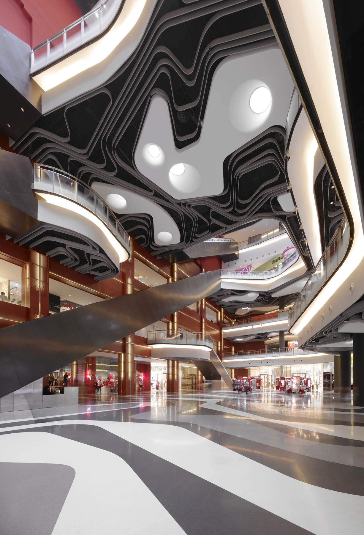 Iluma Retail Development In Singapore IDesignArch Interior Design Architecture Amp Interior