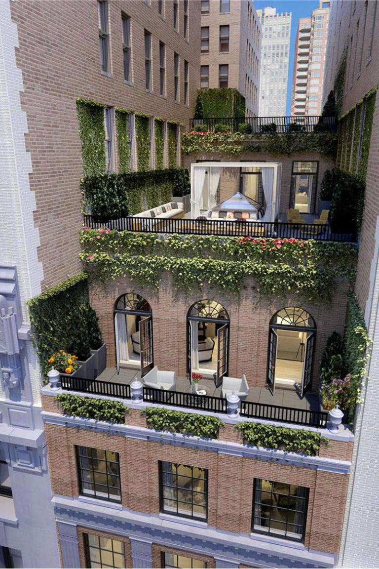 Jennifer Lopezs Madison Square Park Manhattan Penthouse