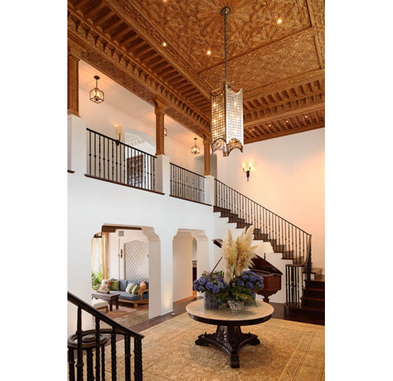 Spanish Revival Estate Home With Southern Californian