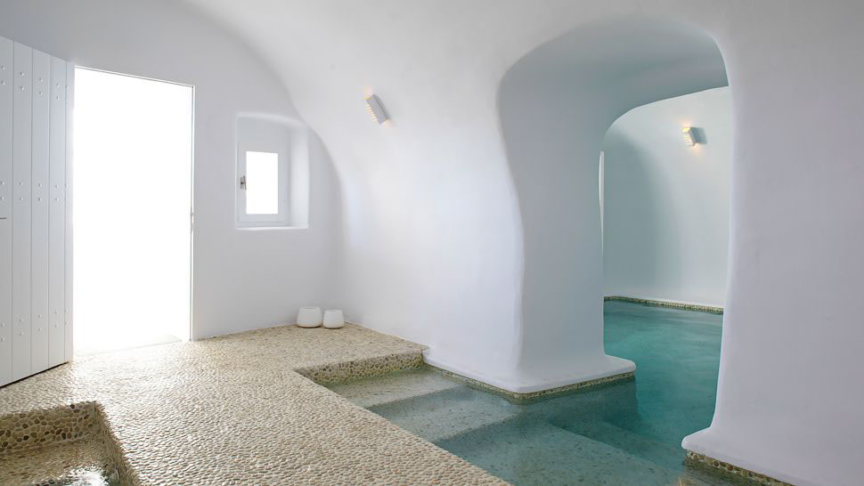 Kirini Santorini Hotel Minimalist Luxury In The Mediterranean IDesignArch Interior Design