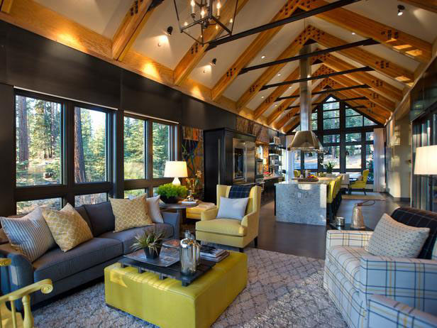 Rustic Mountain Style Lake Tahoe Dream Home Idesignarch