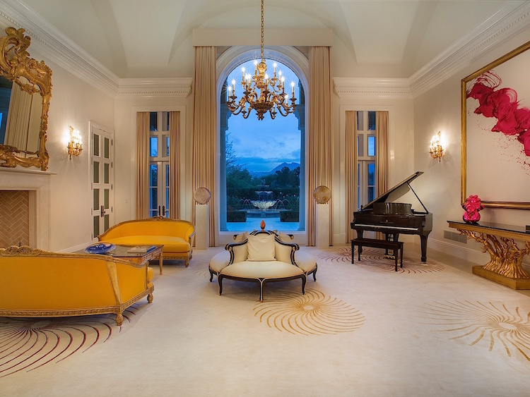 Luxury Las Vegas Manor Timeless Design IDesignArch Interior Design Architecture Amp Interior