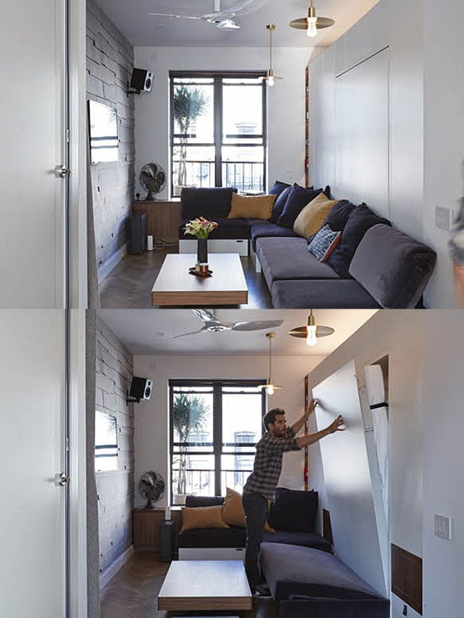Tiny 350 Square Foot Smart Apartment In