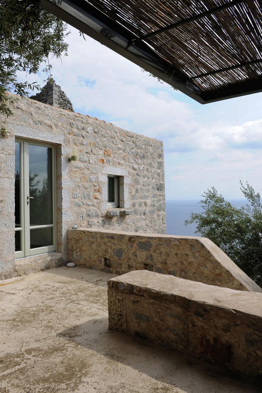 Historical Stone Building In Greece Transformed Into Contemporary Rustic Villa IDesignArch
