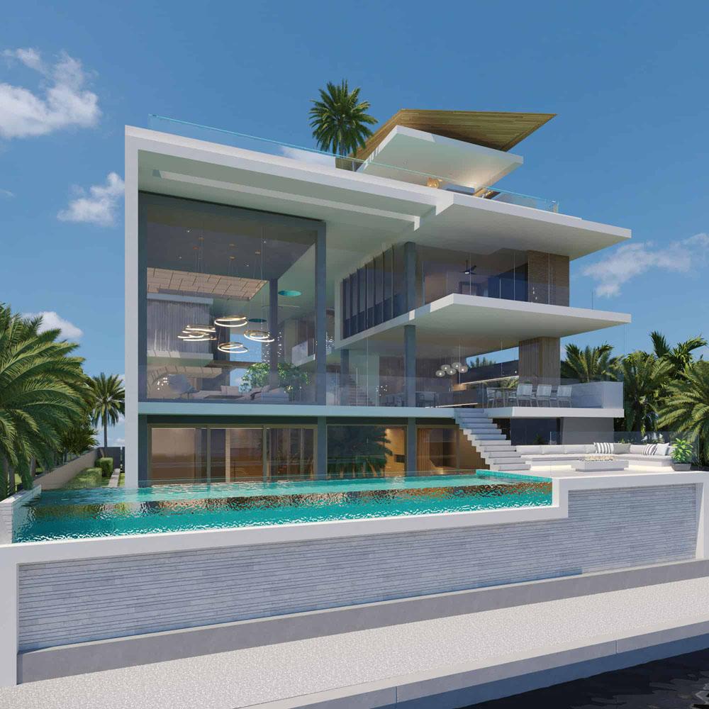 Modern Coastal Dream Home Design Gold Coast Queensland