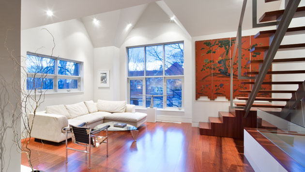 Modern Duplex Conversion In Historic Building