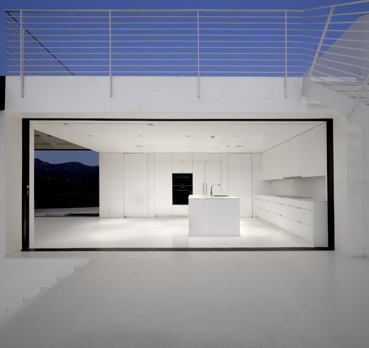 Abstract Minimalist House In Hollywood Hills IDesignArch
