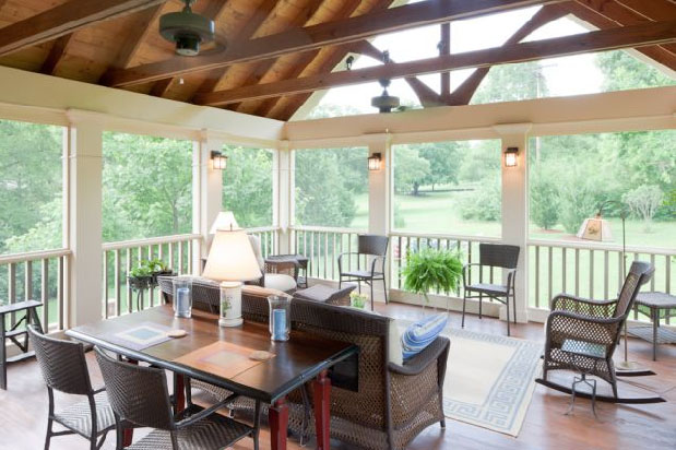 Screened Porches Bring The Outdoors Indoors IDesignArch Interior Design Architecture