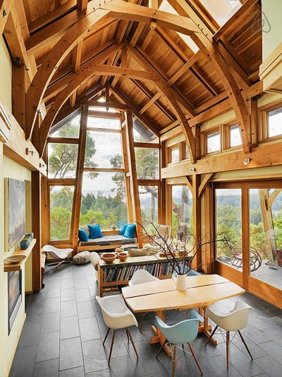 A Magical Cottage On Pender Island | iDesignArch ...