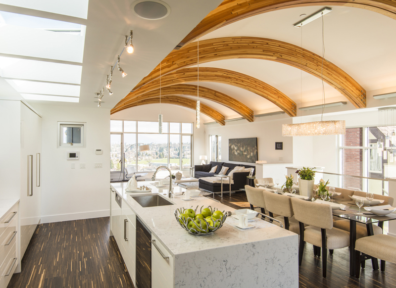 Open Room And Dining Room Living Decor