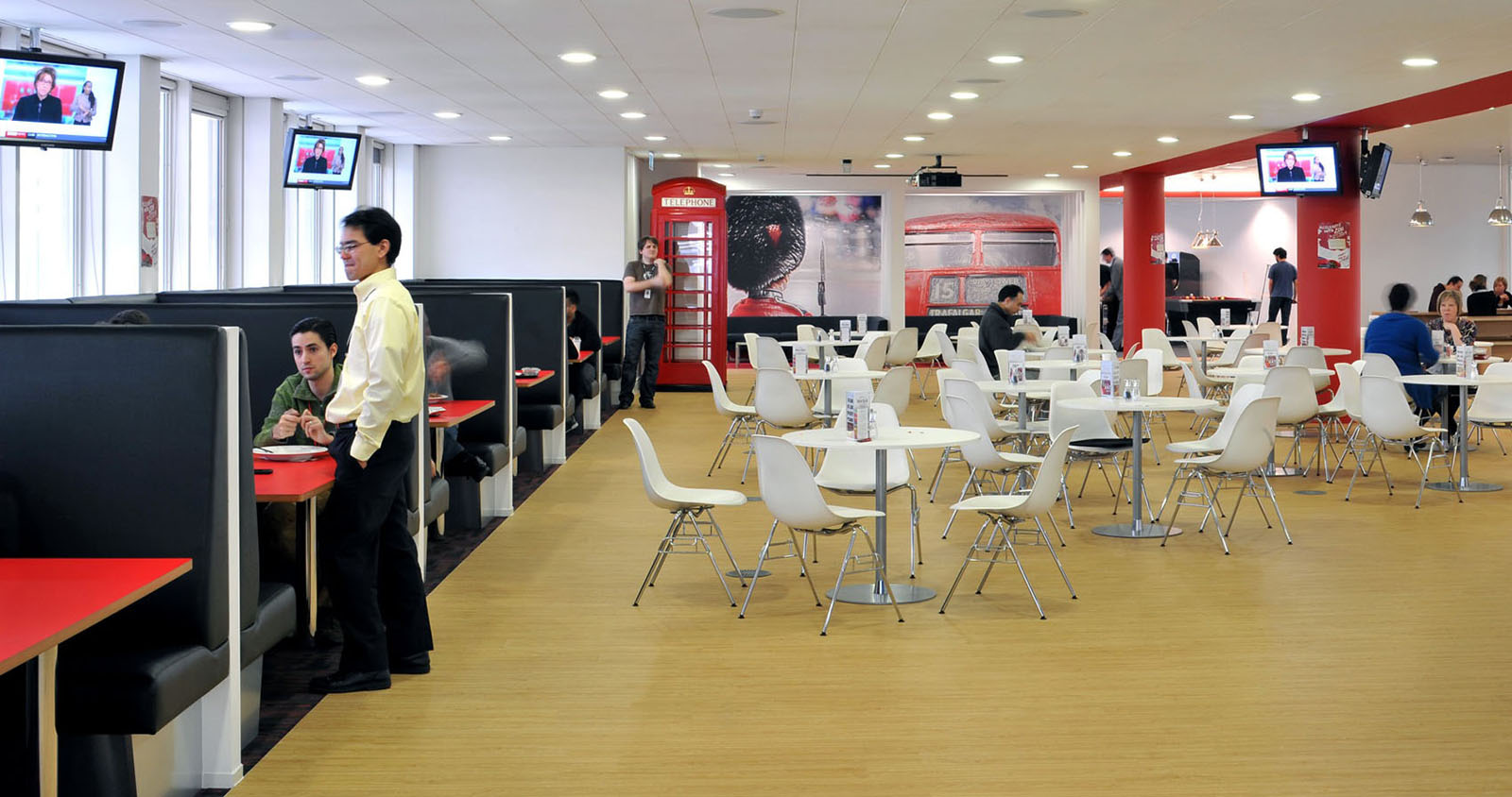 Inspiring British Office Interior Design At Rackspace