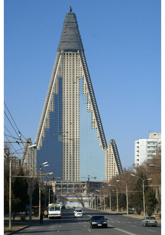 Ryugyong Hotel Bizarre Symbol Of North Korea