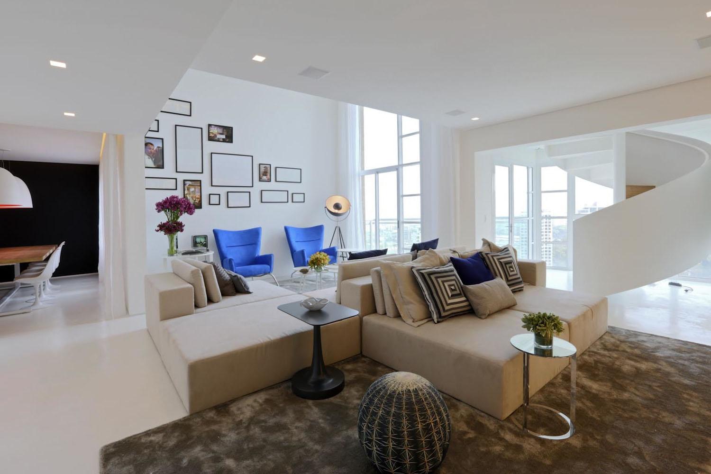 Minimalist Luxury Duplex Apartment In S 227 O Paulo