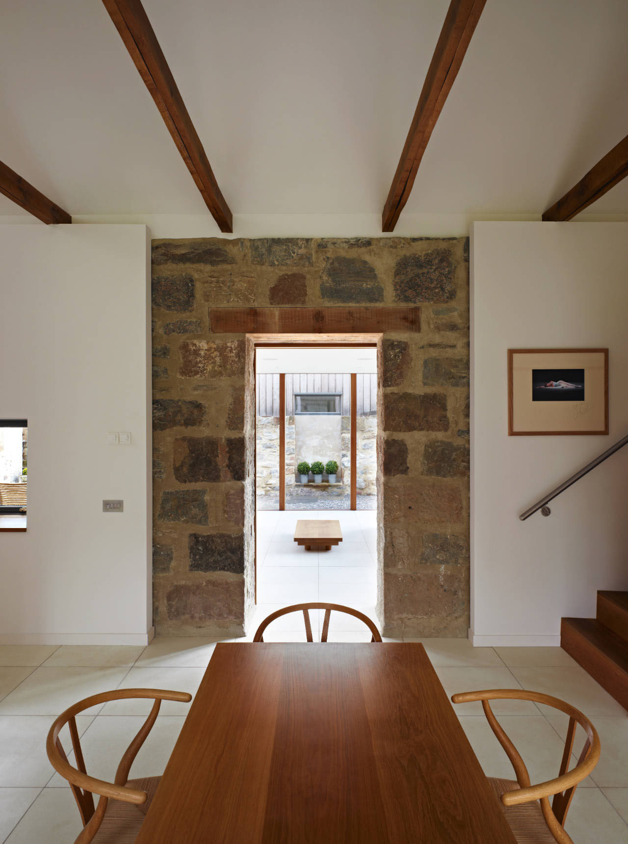Scottish Country House Incorporates Ruins Of A Former Mill