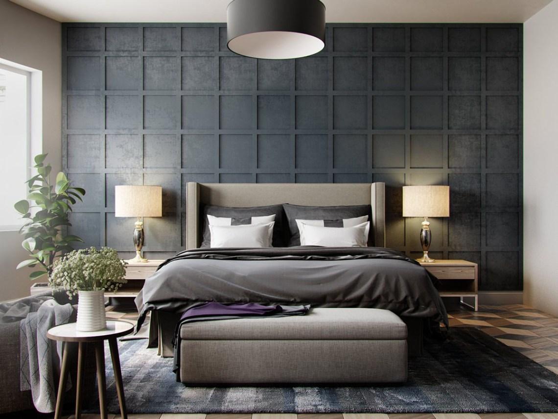 Five Shades of Grey Bedroom Design Ideas   iDesignArch ...