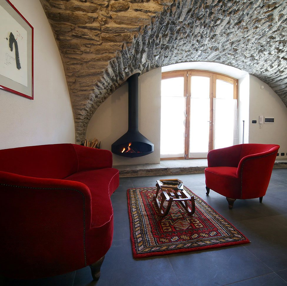 Modern Apartments In Restored Historical Village In Northern Italy IDesignArch Interior