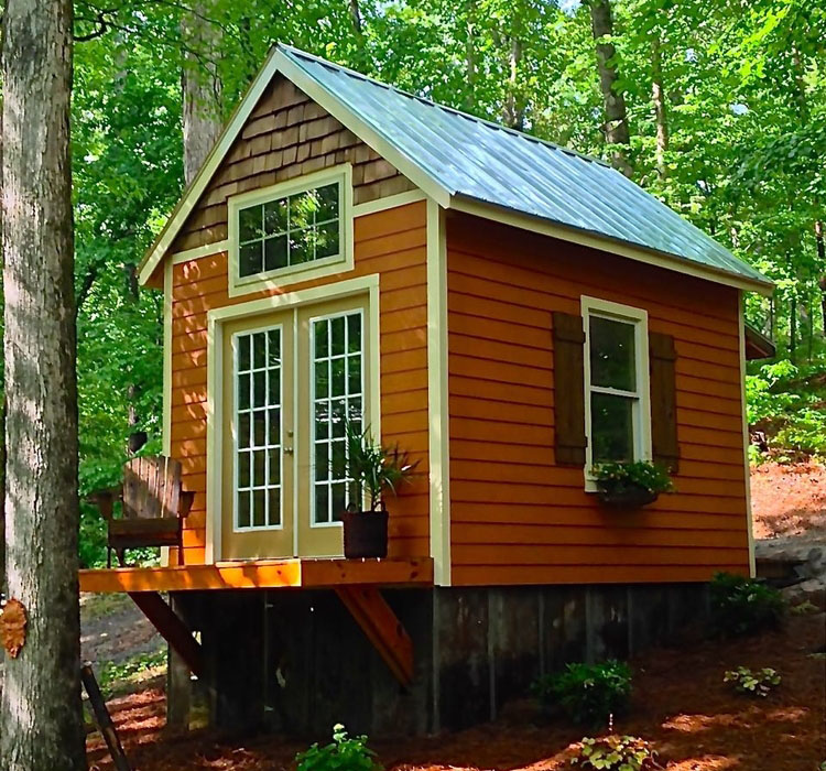 180 Square Foot Tiny House With The Open Feel Of A Full Time Home IDesignArch Interior