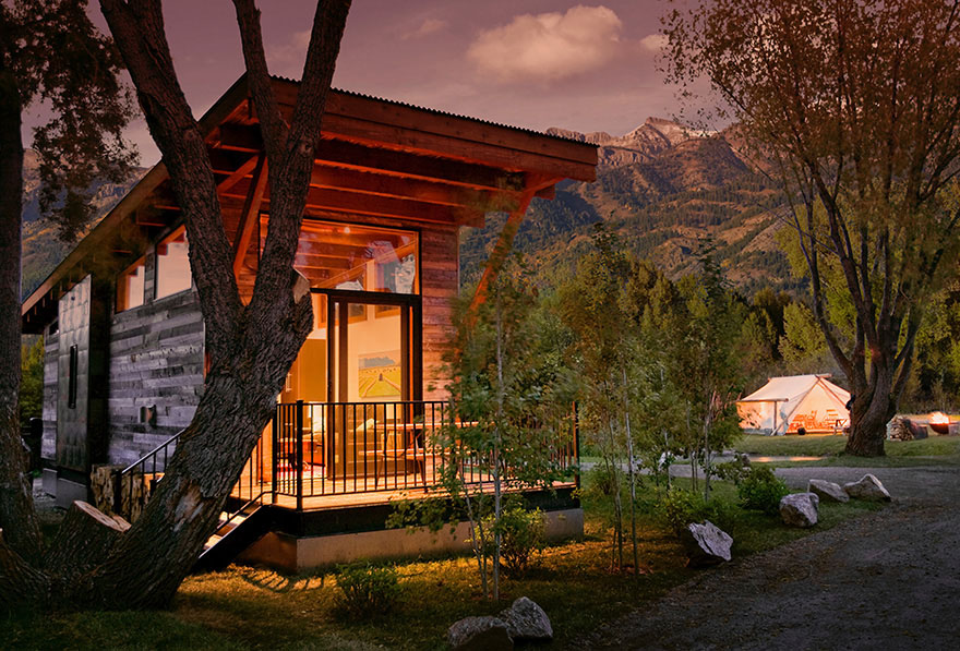Luxury Turnkey Tiny Cabin Combines Rustic And Modern