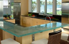 15 Phenomenal Glass Kitchen Countertops That No One Can Resist Of