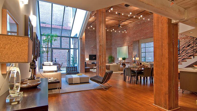 Timeless Open Warehouse Loft IDesignArch Interior