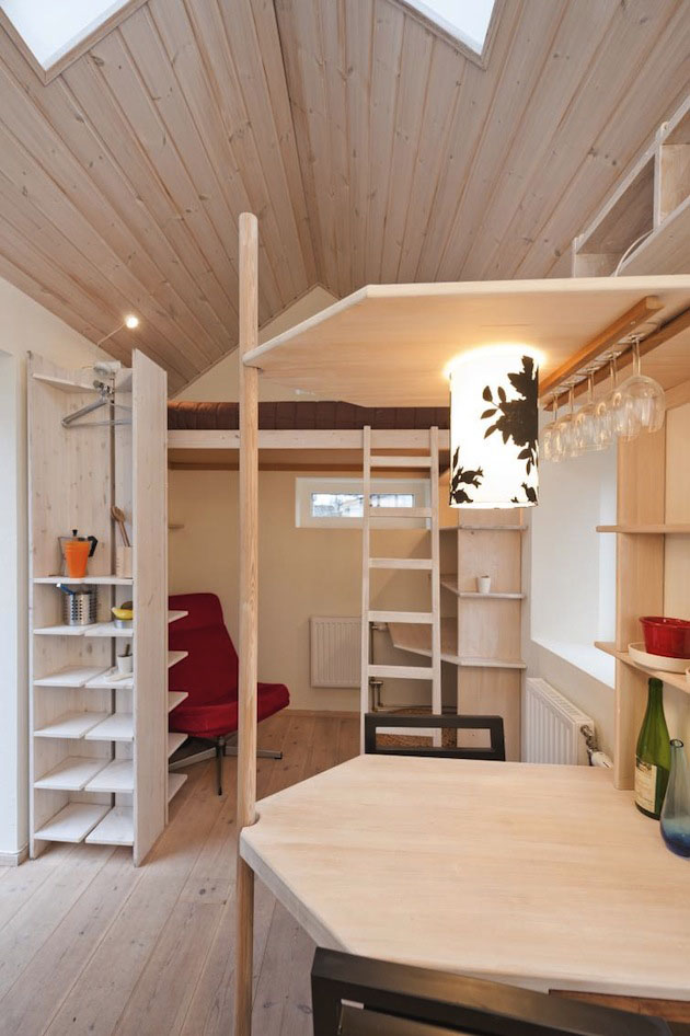 Tiny Studio Flat For Students IDesignArch Interior Design Architecture Amp Interior