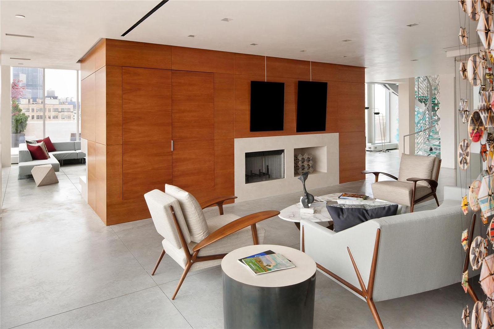 The Ultimate Manhattan Penthouse In Tribeca IDesignArch Interior Design Architecture