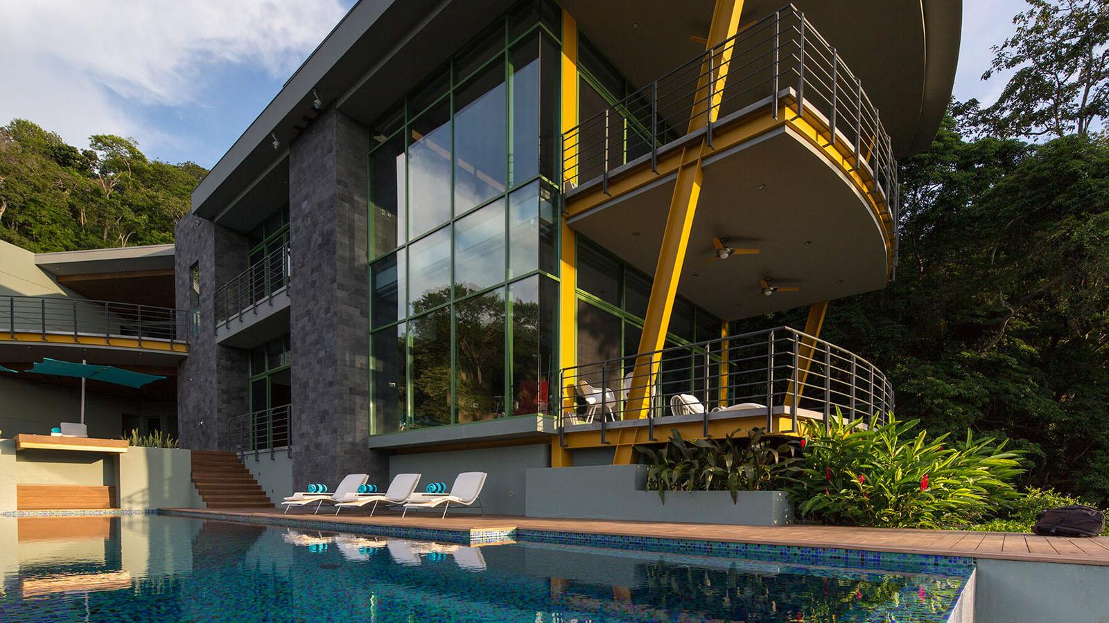 Best Kitchen Gallery: Tropical Modern House Costa Rica 8 Idesignarch Interior Design of Tropical Modern House on rachelxblog.com