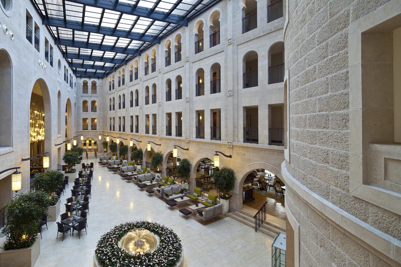 Waldorf Astoria Jerusalem Hotel A Mix Of Contemporary
