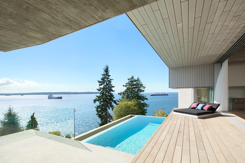 Minimalist Concrete House With Intimate Interior Spaces
