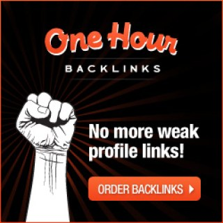 OneHourBacklinks.com is a premium backlink service providing users with high quality indexed backlinks.